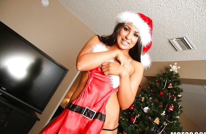 Рождественский секс начальника и секретарши