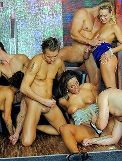 Жесткий проеб бисексуалов на свидании