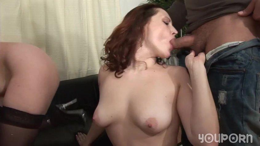 Порно дуплет на кастинге